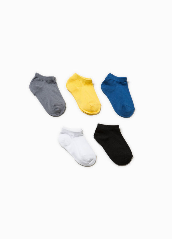 Five-pair pack cotton socks | OVS