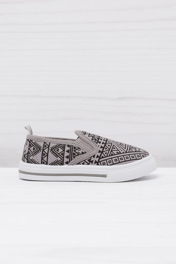 Slip-on fantasia geometrica