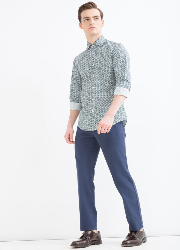 Rumford 100% cotton shirt. | OVS