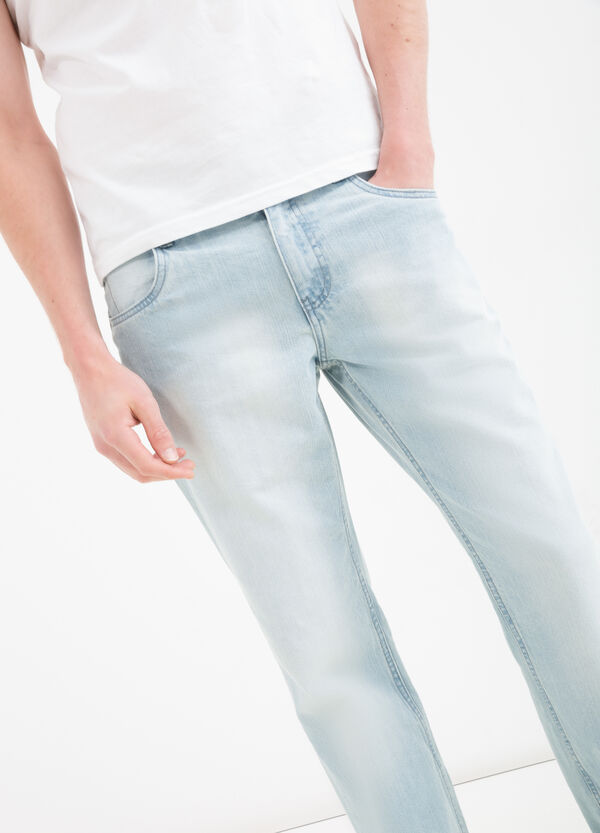 Regular fit jeans with faded effect | OVS