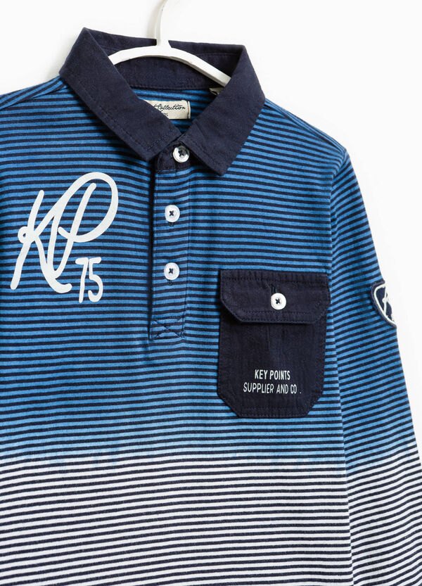 Striped degradé polo shirt | OVS