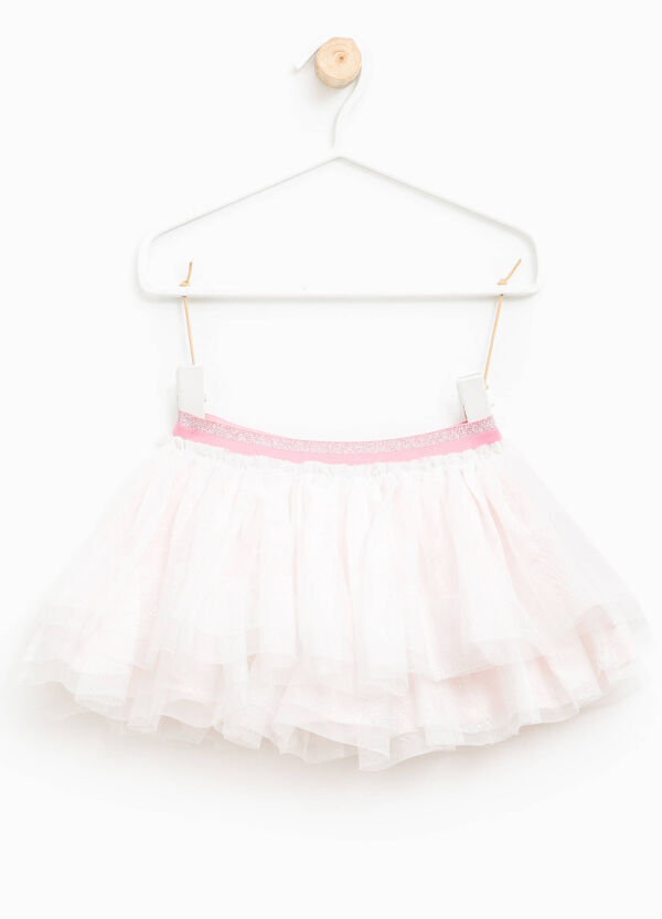 Gonna in tulle glitterata | OVS