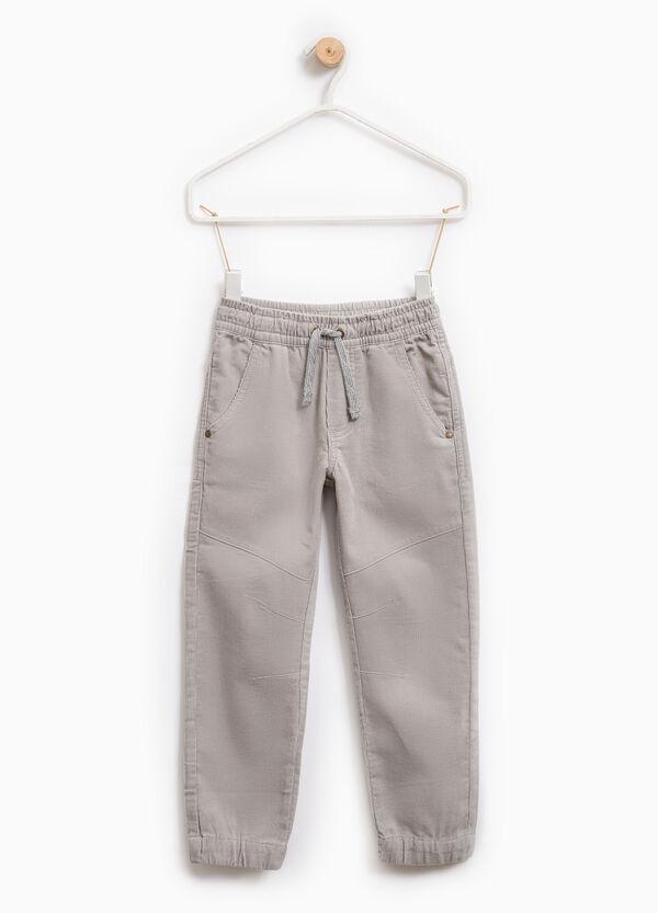 Pantaloni puro cotone con coulisse | OVS