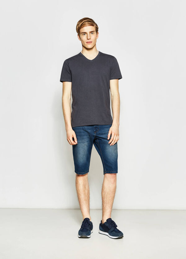 Bermuda di jeans straight fit | OVS