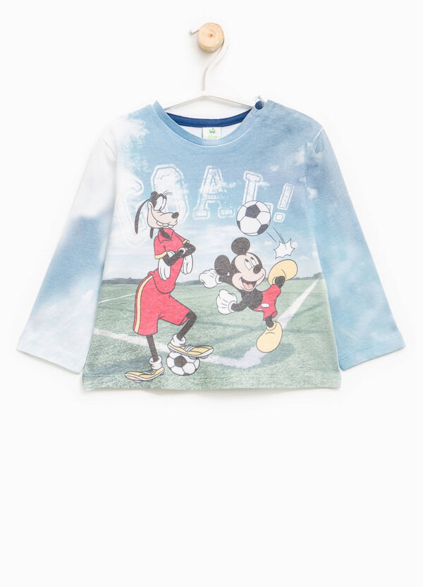 Maxi Disney print cotton T-shirt | OVS