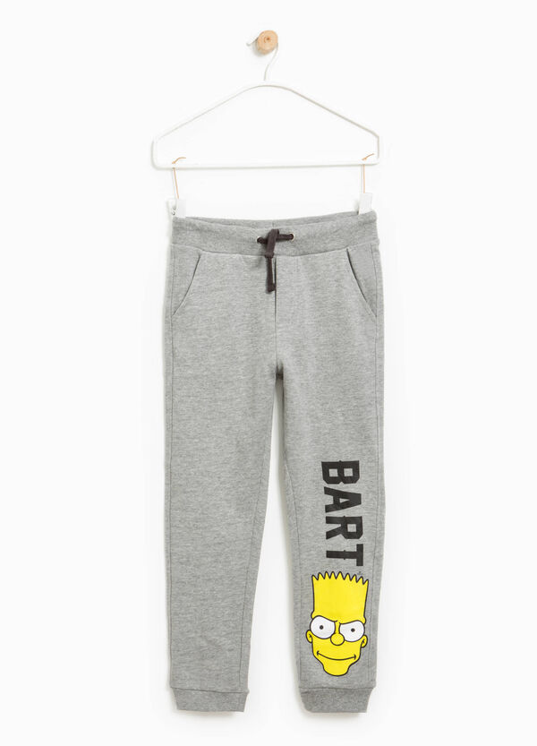 Joggers with The Simpsons print | OVS