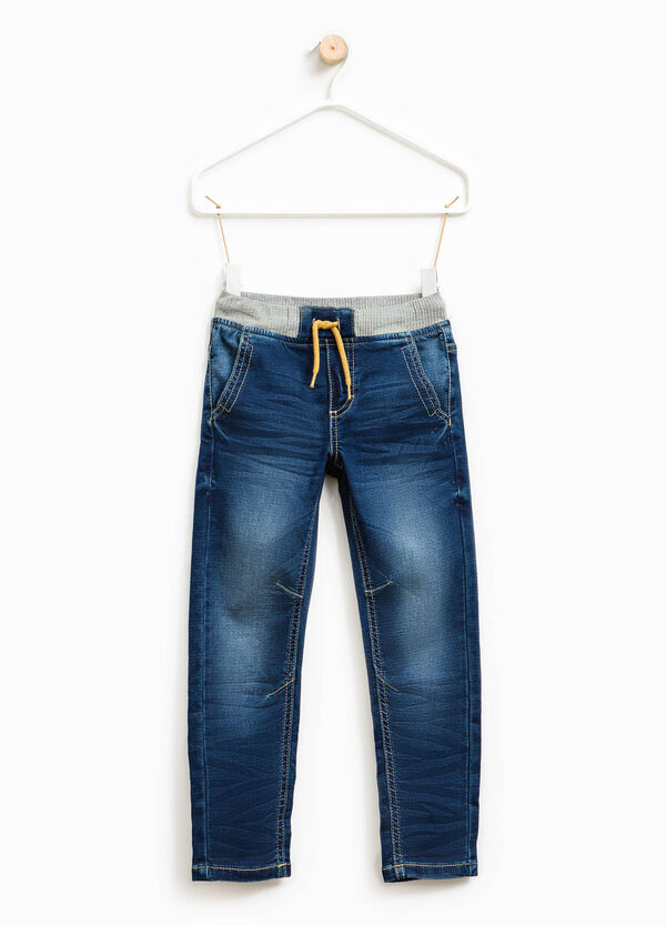 Stretch jeans with elasticated waist | OVS