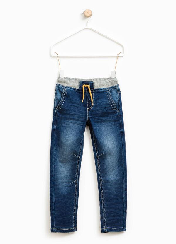 Jeans stretch con vita elasticata | OVS
