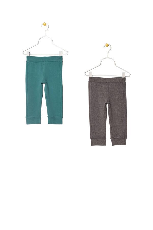 Set due leggings stretch tinta unita | OVS