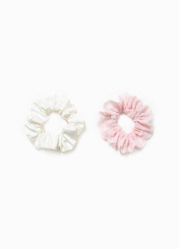Two-pack, solid colour hair elastics   OVS