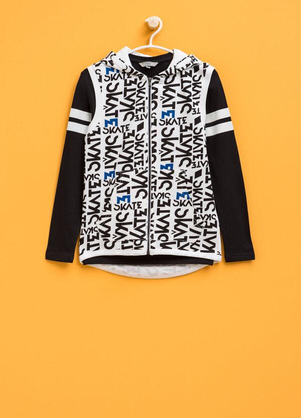 Patterned T-shirt and sweatshirt set | OVS
