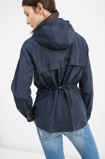 Hooded windbreaker, Navy Blue, hi-res