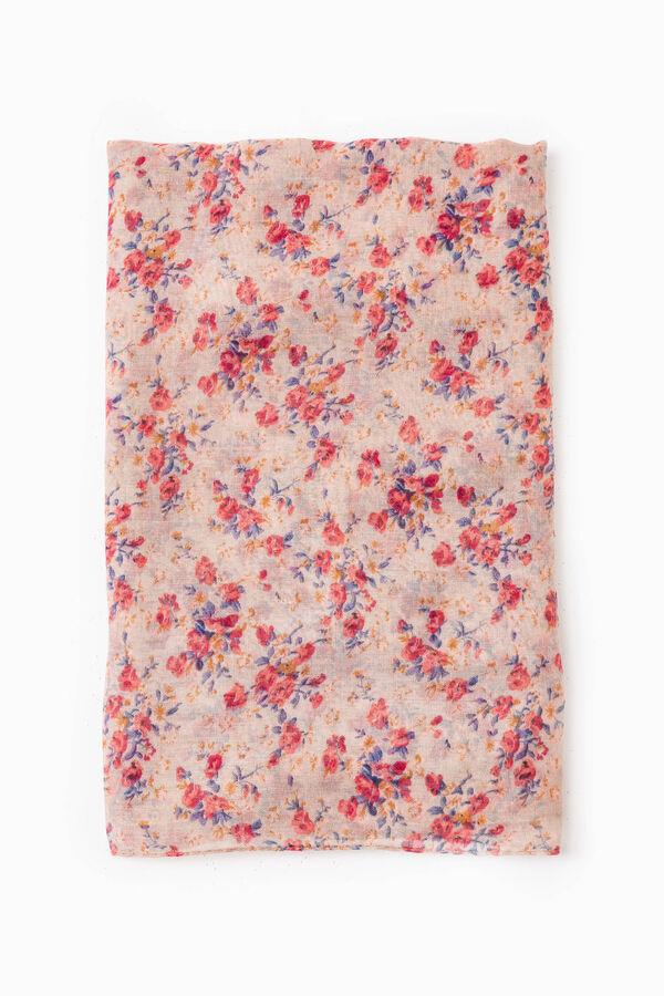 Floral print pashmina | OVS