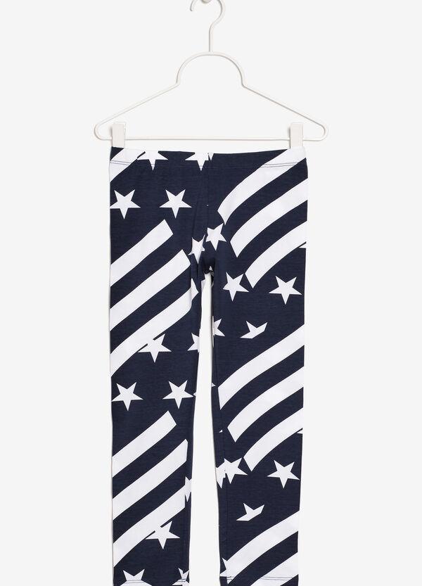 Patterned pants | OVS