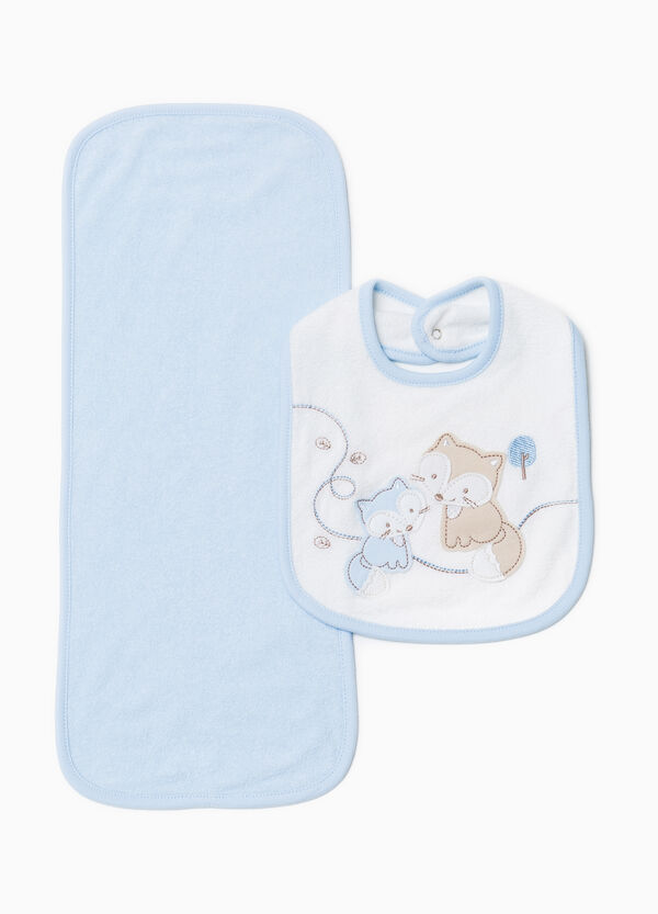 Towel and bib set | OVS