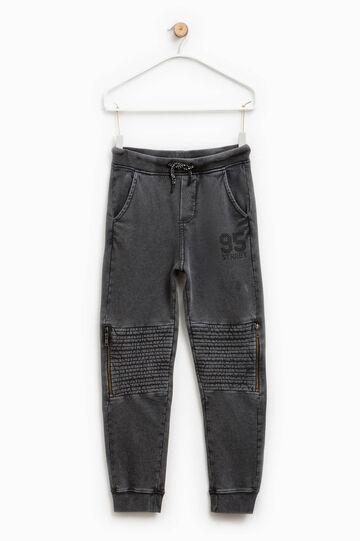 Pantalón de algodón con estampado
