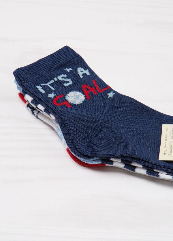 Set tre paia di calze in cotone | OVS