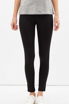 Pantaloni sportivi super stretch, Nero, hi-res