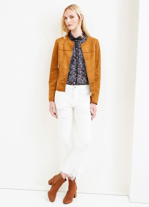 Suede look jacket | OVS