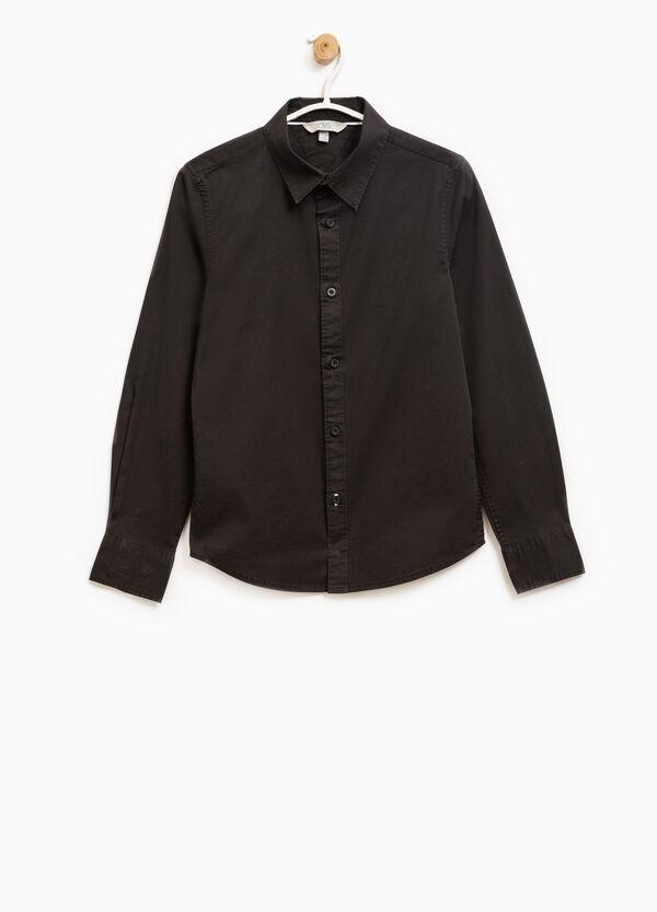 Slim fit, stretch cotton shirt | OVS