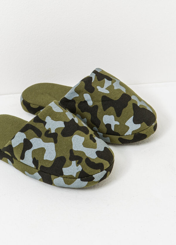 Camouflage slippers | OVS