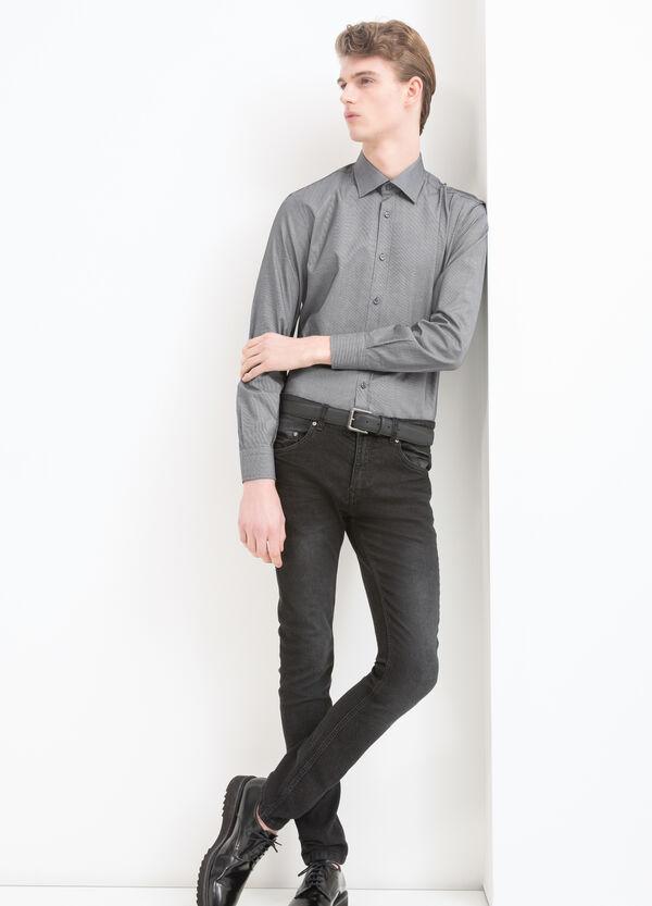 100% cotton check shirt | OVS
