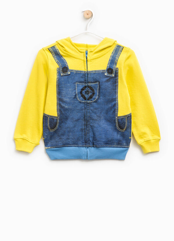 Sweatshirt with dungarees motif print | OVS