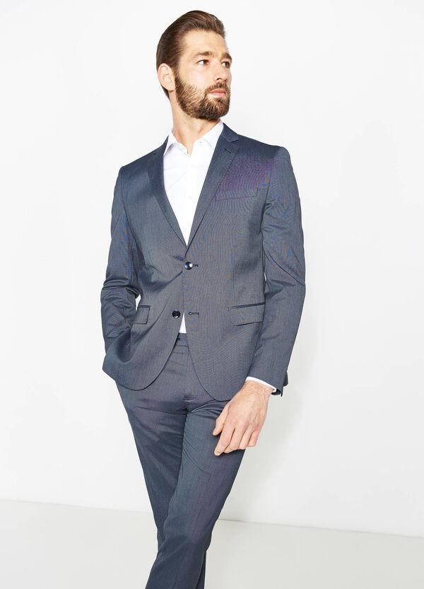 Solid colour, slim-fit stretch viscose dress | OVS