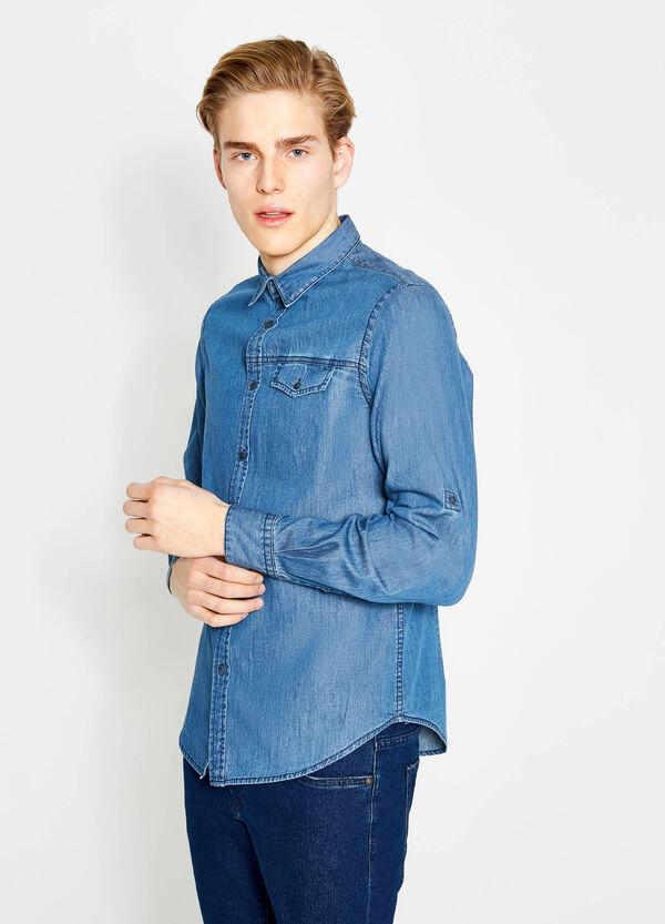 Camicia di jeans casual slim fit | OVS