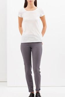 Skinny fit stretch jeggings, Grey, hi-res
