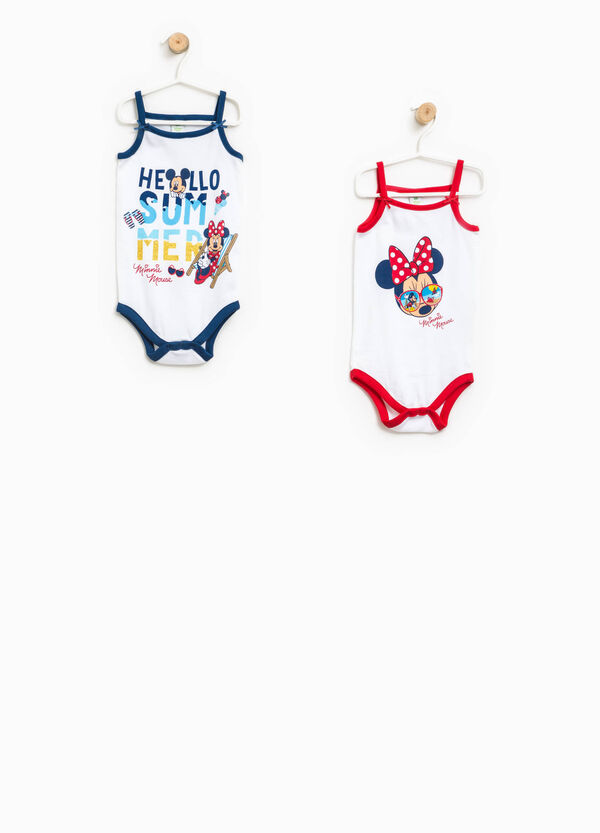Two-pack Minnie and Mickey Mouse bodysuits | OVS