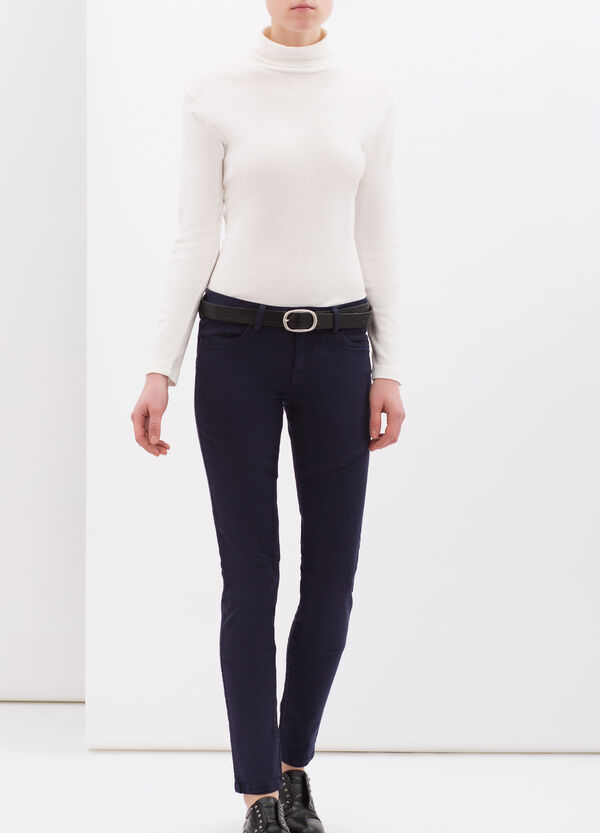 Stretch cotton trousers. | OVS