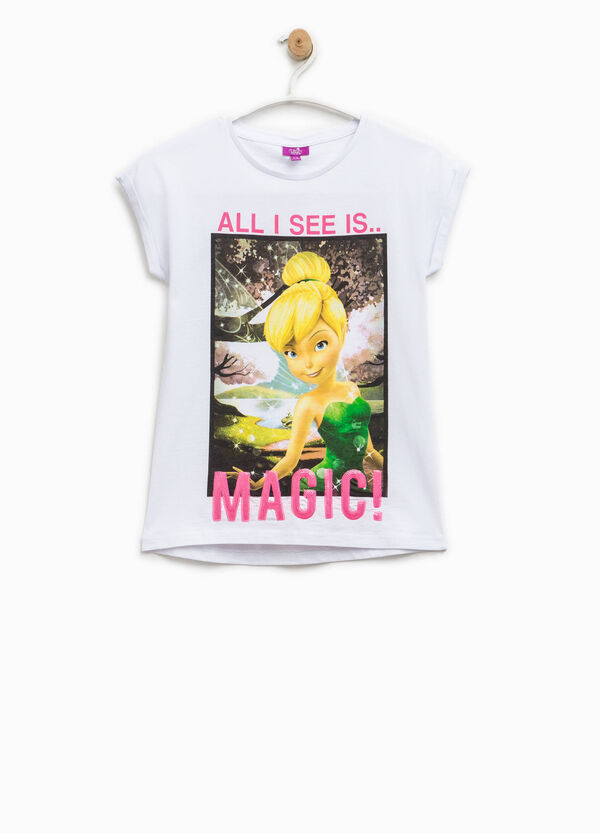 T-shirt with Disney Fairies print and sequins | OVS