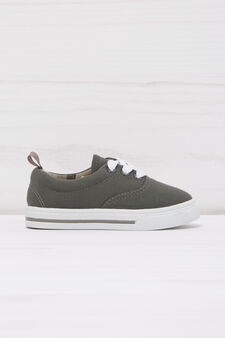 Sneakers with contrasting sole., Grey, hi-res