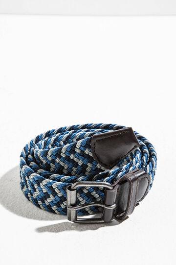 Cintura bicolore intrecciata