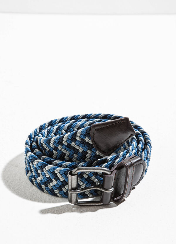Cintura bicolore intrecciata | OVS