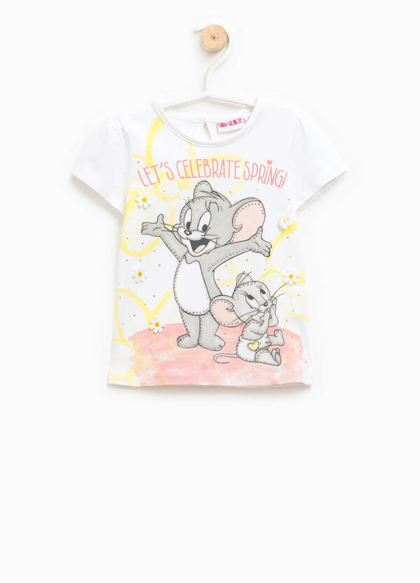 T-shirt with Baby Tom and Jerry print | OVS