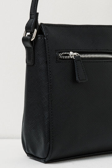 Bag with adjustable shoulder strap., Black, hi-res