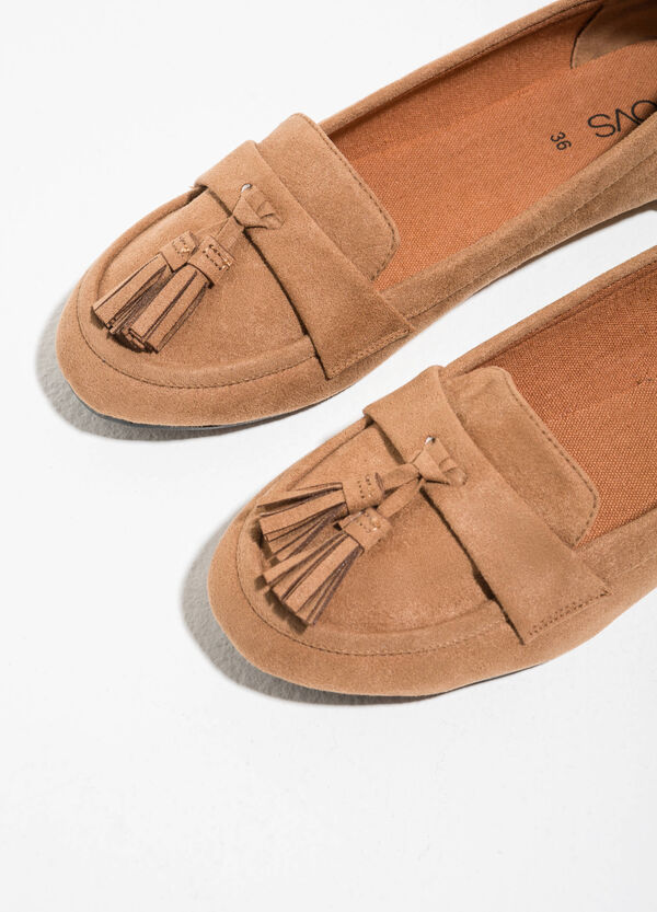 Moccasins with tassels | OVS