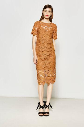 Lace longuette dress