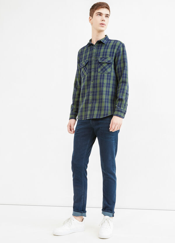 G&H casual check cotton shirt | OVS