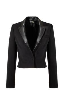 Spencer Jacket, Jean Paul Gaultier for OVS, Black, hi-res