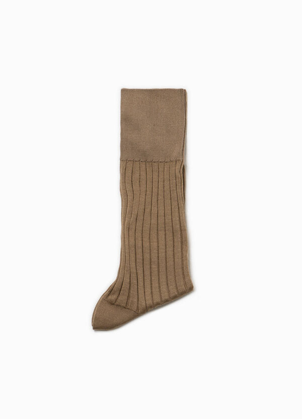 Ribbed cotton short socks | OVS