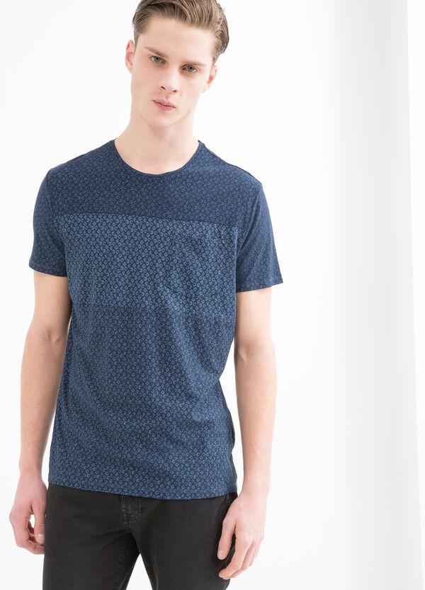 T-shirt puro cotone fantasia | OVS
