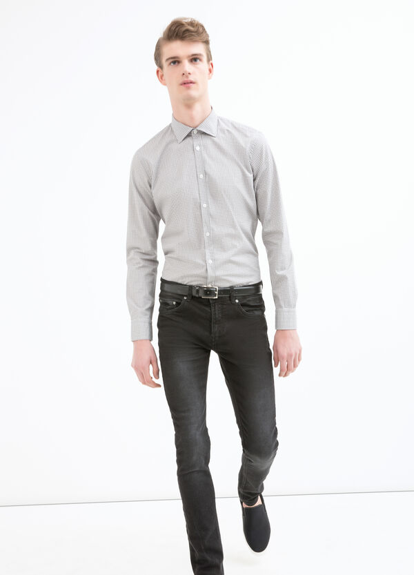 Printed shirt in 100% cotton   OVS