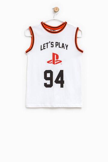 Vest with PlayStation print