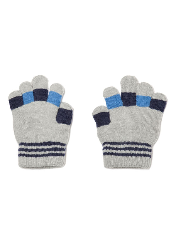 Gloves with contrasting details   OVS