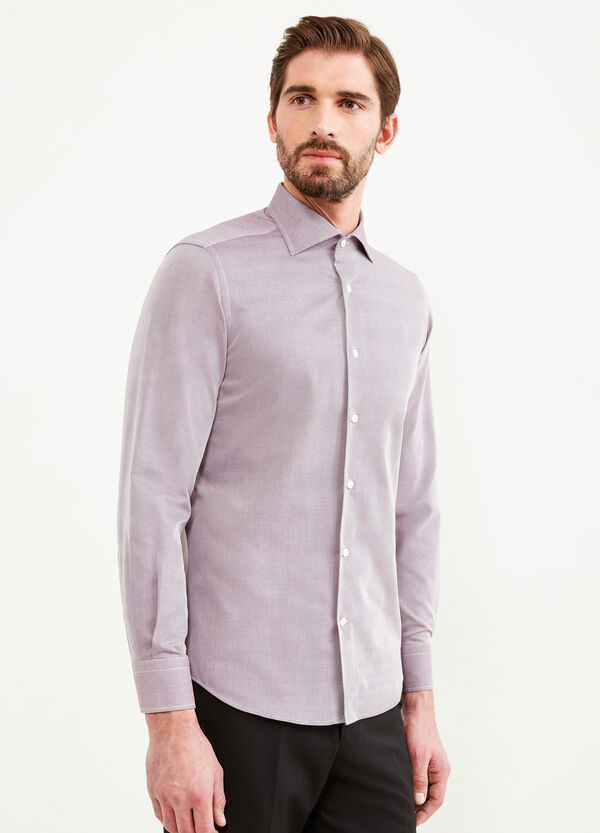 Slim-fit striped formal shirt | OVS