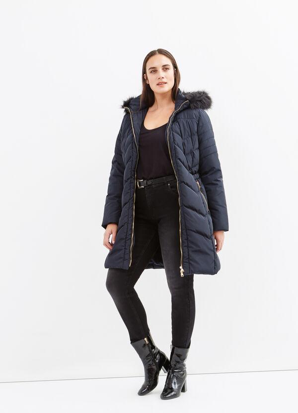 Curvy fur jacket | OVS