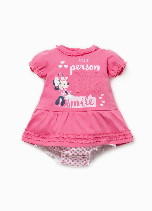 Minnie Mouse patterned romper suit with print | OVS